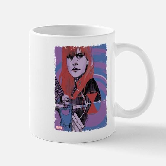 Hawkeye Black Widow Mug