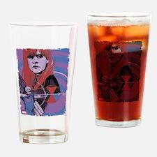Hawkeye Black Widow Drinking Glass