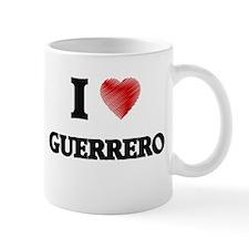 I Love Guerrero Mugs