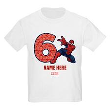 Spider-Man Personalized Birthda T-Shirt