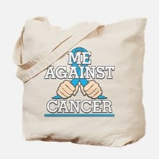 Against Testicular Cancer Tote Bag