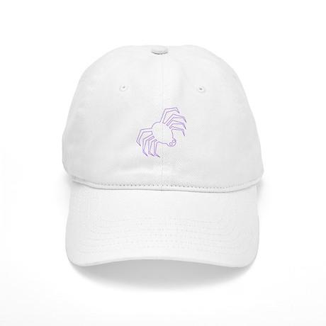 Purple Halloween Spider Cap