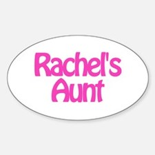 Rachel's Aunt Oval Decal
