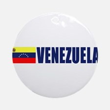 Venezuela Ornament (Round)
