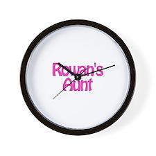 Rowan's Aunt Wall Clock