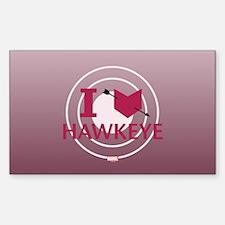 I Heart Hawkeye Variant Decal
