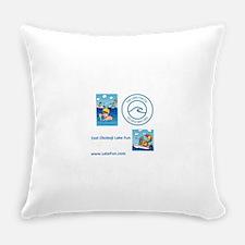 East Okoboji Lake Everyday Pillow