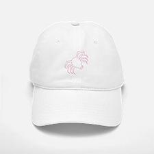 Pink Spider Halloween Baseball Baseball Cap