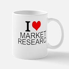 I Love Market Research Mugs