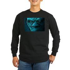 Night Bigfoot Long Sleeve T-Shirt