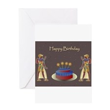 Unique Ancient egypt egyptian pharaoh Greeting Card