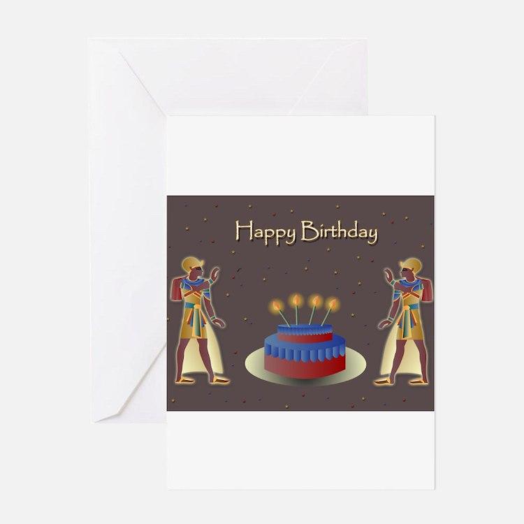Egypt Birthday Greeting Cards – Egyptian Birthday Cards