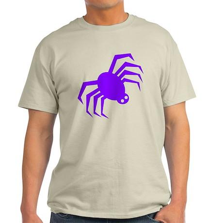 Groovy Purple Spider Light T-Shirt