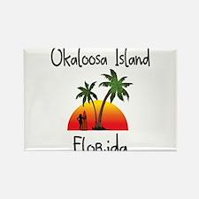 Okaloosa Island Florida Magnets