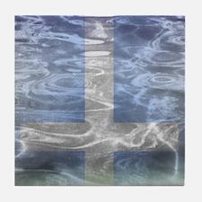 Cross reflexion Tile Coaster
