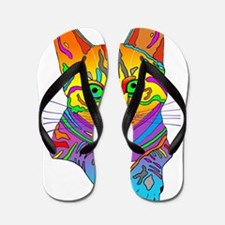 Pop Art Cindy Flip Flops