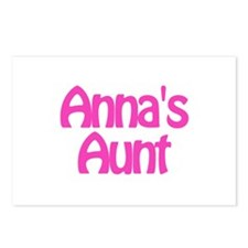 Anna's Aunt Postcards (Package of 8)