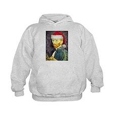 Van Gogh Santa Hoodie