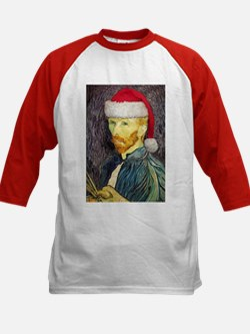 Van Gogh Santa Tee