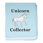 Unicorn Collector baby blanket