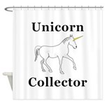 Unicorn Collector Shower Curtain