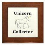 Unicorn Collector Framed Tile