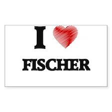 I Love Fischer Bumper Stickers