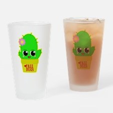 Kawaii Cactus Drinking Glass