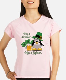 Unique St patricks day running Performance Dry T-Shirt