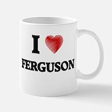 I Love Ferguson Mugs