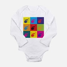 Unique Percussion Long Sleeve Infant Bodysuit