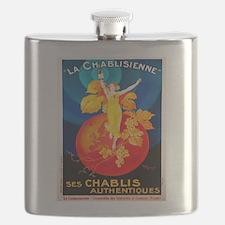 Vintage poster - La Chablisienne Flask