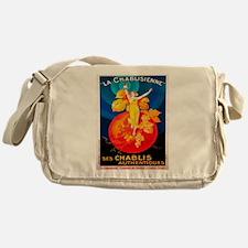 Vintage poster - La Chablisienne Messenger Bag