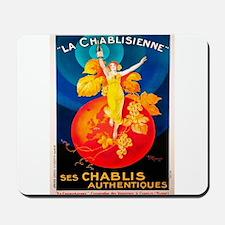 Vintage poster - La Chablisienne Mousepad