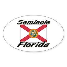 Seminole Florida Oval Decal
