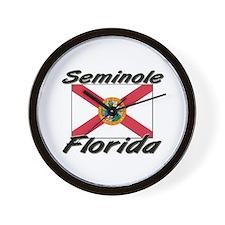 Seminole Florida Wall Clock