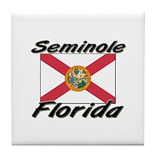 Seminole Florida Tile Coaster