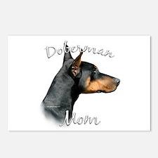 Dobie Mom2 Postcards (Package of 8)