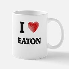 I Love Eaton Mugs