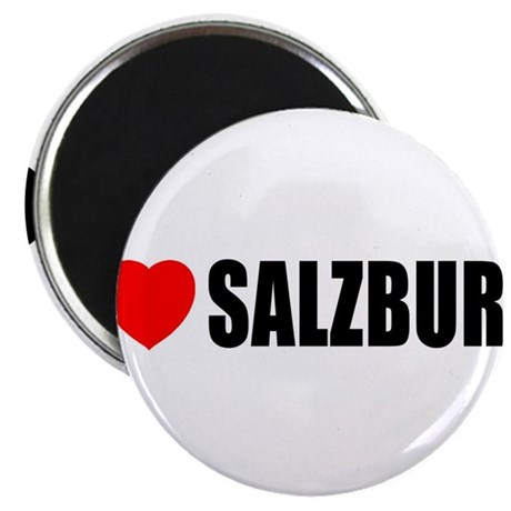I Love Salzburg Magnet