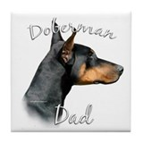 Doberman pinscher Drink Coasters