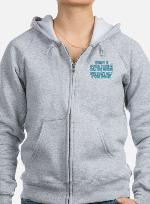 There's a special place - Zip Hoody