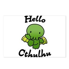 Hello cthulhu Postcards (Package of 8)