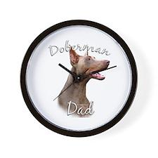 Dobie Dad2 Wall Clock
