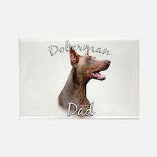 Dobie Dad2 Rectangle Magnet