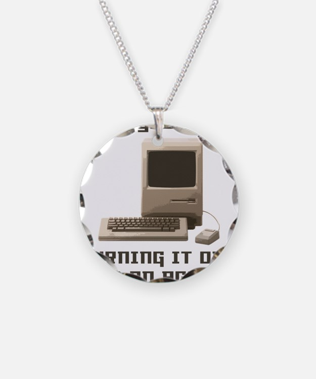 Turning it off and on again Necklace