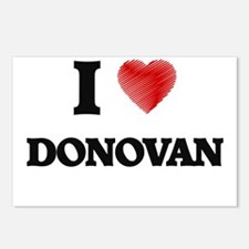 I Love Donovan Postcards (Package of 8)