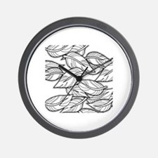 Cool Grayscale Wall Clock