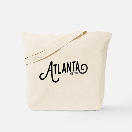 Atlanta Georgia Tote Bag
