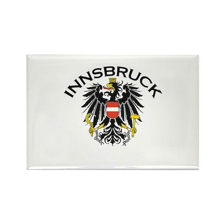 Innsbruck, Austria Rectangle Magnet (100 pack)